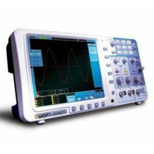 Osciloscopio Digital Portable con Batería de Lítio